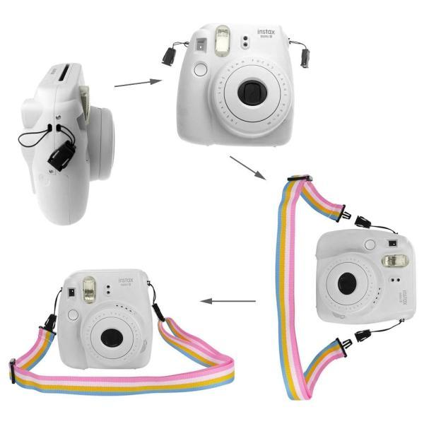 Fintie FUJIFILM インスタントカメラ チェキ Fujifilm instax mini 9 / mini 8 / mini 8|tywith2|04