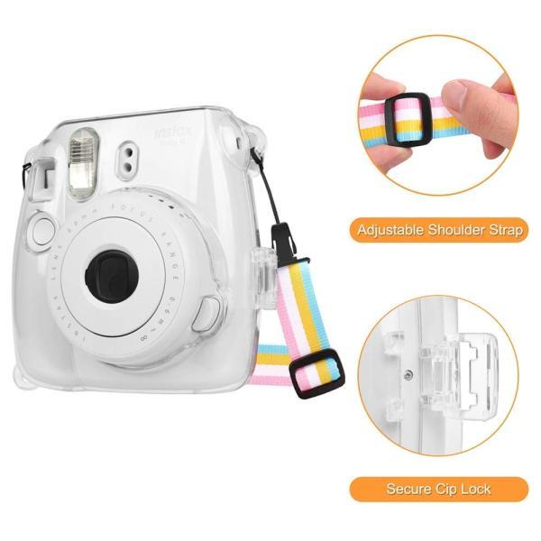 Fintie FUJIFILM インスタントカメラ チェキ Fujifilm instax mini 9 / mini 8 / mini 8|tywith2|06
