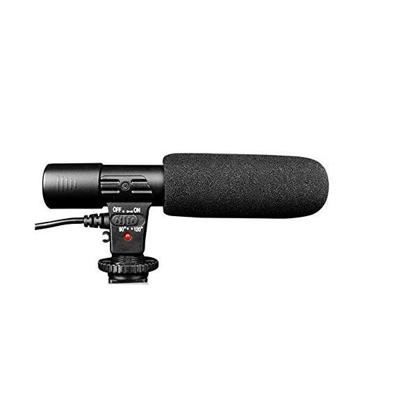 CHAOYILIU 外付けマイク 一眼レフ マイク 外部マイク カメラマイクロホン 一眼レフ対応 指向性コンデンサーマイク D-SLRカメラ
