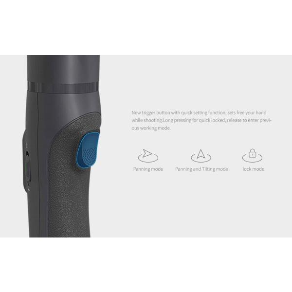 並行輸入品FeiyuTech Vimble 2 伸縮式安定ビデオ撮影 3軸スマートフォン ジンバル 手ブレ補正スタビライザー 顔追跡 パノラ