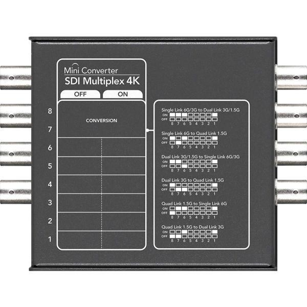 Blackmagic Design コンバーター Mini Converter SDI Multiplex 4K 002157
