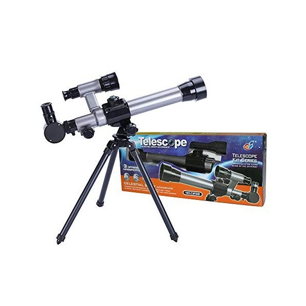 FUNRUI 子供の望遠鏡 20X-30X-40X 調節可能な 天体天文 望遠鏡 子ども 初心者 屈折三脚単眼望遠鏡 コンパス付き おもちゃ|tywith2|04