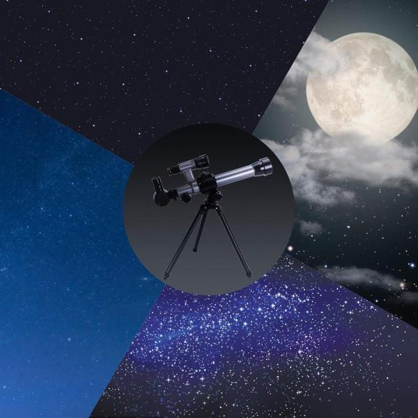 FUNRUI 子供の望遠鏡 20X-30X-40X 調節可能な 天体天文 望遠鏡 子ども 初心者 屈折三脚単眼望遠鏡 コンパス付き おもちゃ|tywith2|06