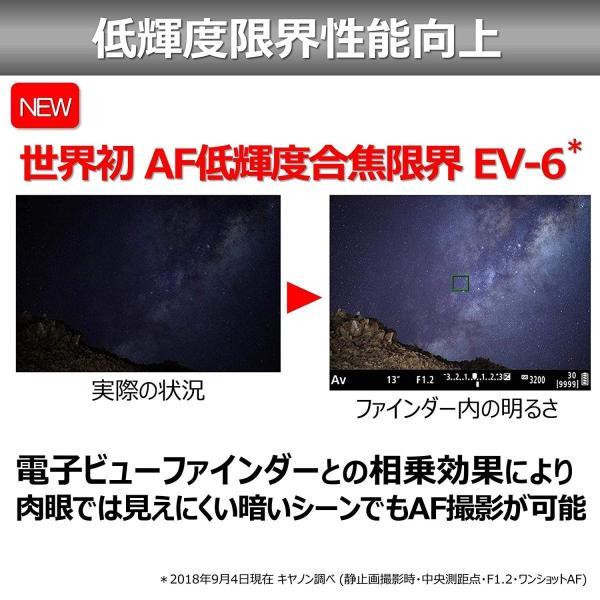Canon ミラーレス一眼 EOS R BODY 約135.8 x 98.3 x 84.4mm