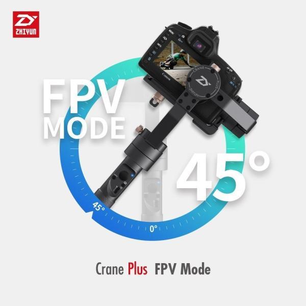Zhiyun crane plus 3軸ハンドヘルドジンバルスタビライザDSLRカメラのモーションメモリ、インテリジェントオブジェクトトラッ