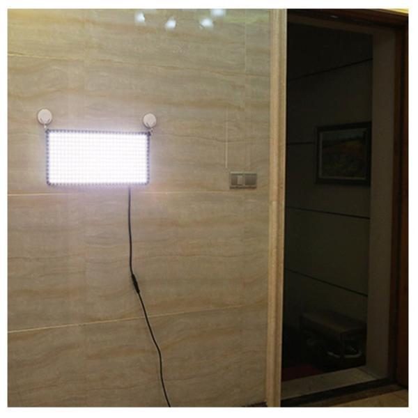 在庫ありMenik CB-68A 巻き取り可能 LED撮影ライト 2750K-6500k色温度 スマホAPP制御可 無階段調整可 撮影用LE