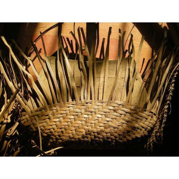 山下工芸(Yamasita craft) 山葡萄コレクション 山葡萄ウォレット 六角花編み 削皮 16116 92363000|tywith2|02
