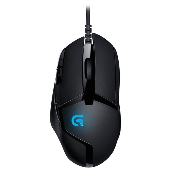 Logitech G402 Hyperion Fury FPS Gaming Mouse with High Speed Fusion En|tywith