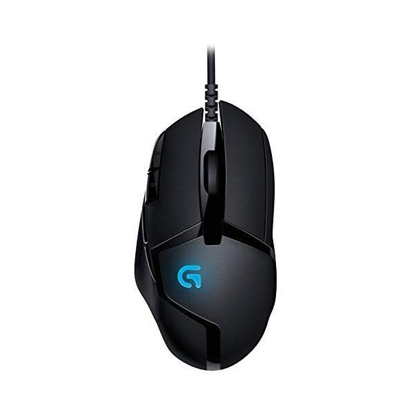 Logitech G402 Hyperion Fury FPS Gaming Mouse with High Speed Fusion En|tywith|03