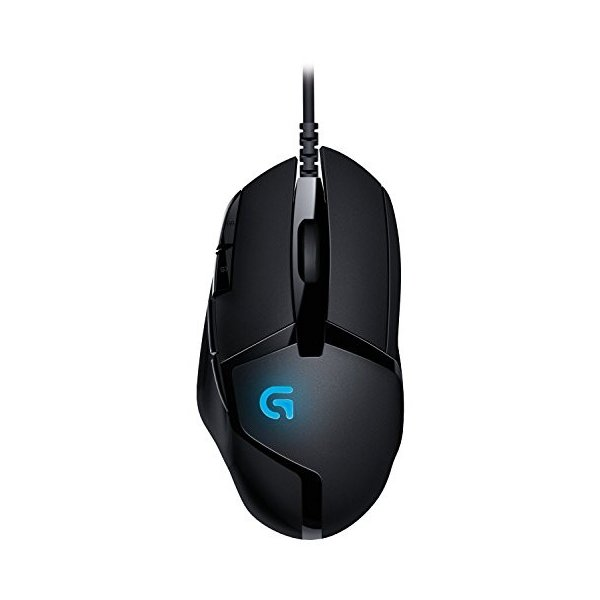Logitech G402 Hyperion Fury FPS Gaming Mouse with High Speed Fusion En|tywith|04