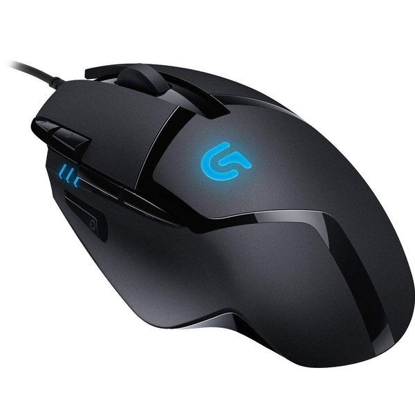Logitech G402 Hyperion Fury FPS Gaming Mouse with High Speed Fusion En|tywith|05