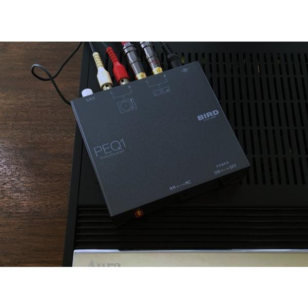 バード電子 フォノイコライザー PEQ1 MM/MCカートリッジ対応
