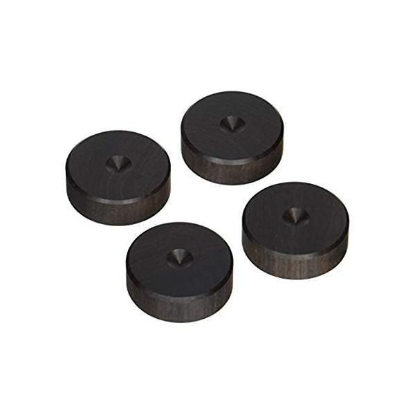 山本音響工芸 アフリカ黒檀製(4個1組) PB-21 PB-21