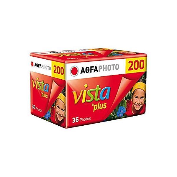 AGFAPHOTO 200 Vista plus 36枚撮り カラー135mmフィルム
