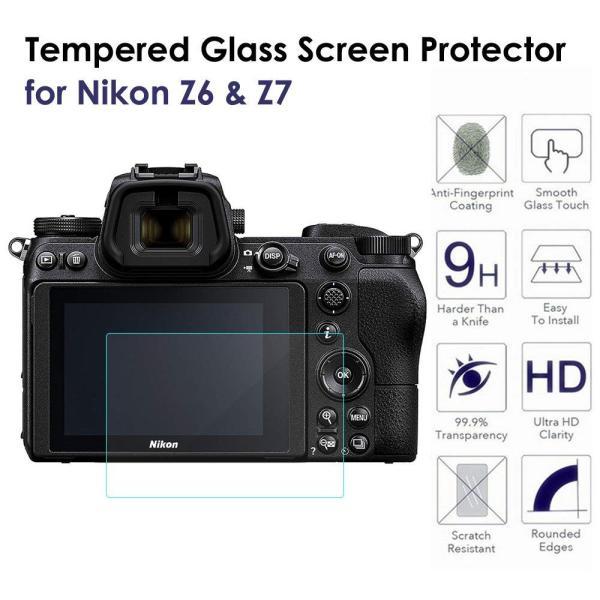 Nikon Z6/Z7 保護フィルム DOSMUNG ニコン ミラーレスカメラ Z6/Z7用 液晶保護フィルム 2.5D 硬度 9H 指紋防