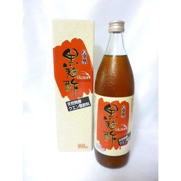 八重泉 黒麹酢 900ml