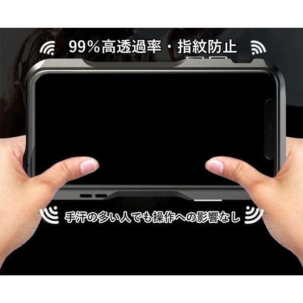 iPhoneX iPhone X ケース カバー iPhoneXケース 磁石止め アルミ マグネット ガラスフィルム 進呈|u-link2|04