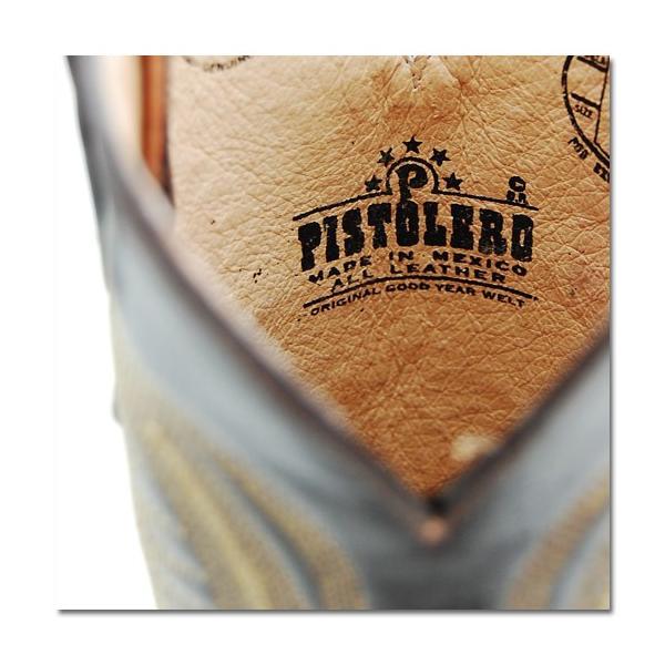Pistolero ピストレロ レディース レザーウエスタンブーツ CHOCO(PTL-043)