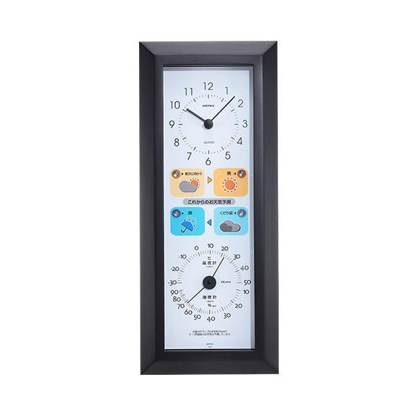 温湿度・天気予報付き掛け時計