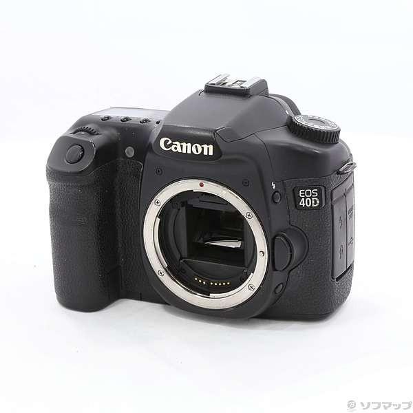 〔中古〕Canon(キヤノン) EOS 40D (1010万画素/CF)〔287-ud〕