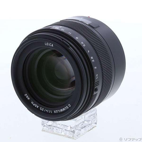 〔中古〕Panasonic (展示品) LEICA D SUMMILUX 25mm F1.4 ASPH L-X025〔198-ud〕〔交換レンズ〕