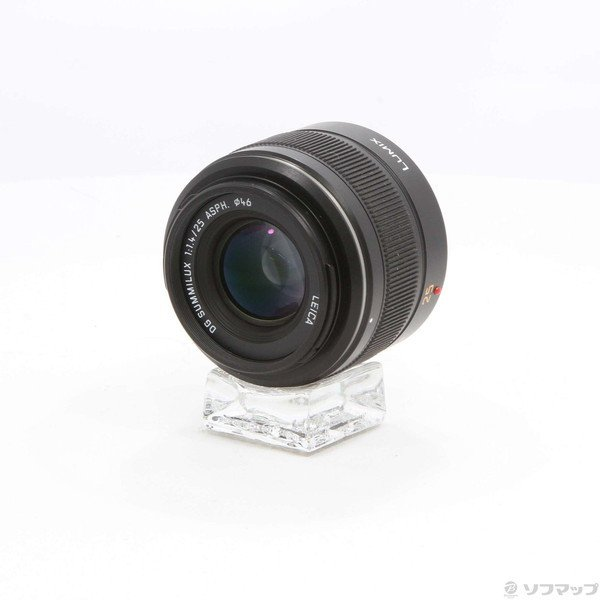 〔中古〕Panasonic(パナソニック) LEICA DG SUMMILUX 25mm/F1.4 ASPH. (H-X025)(レンズ)〔196-ud〕