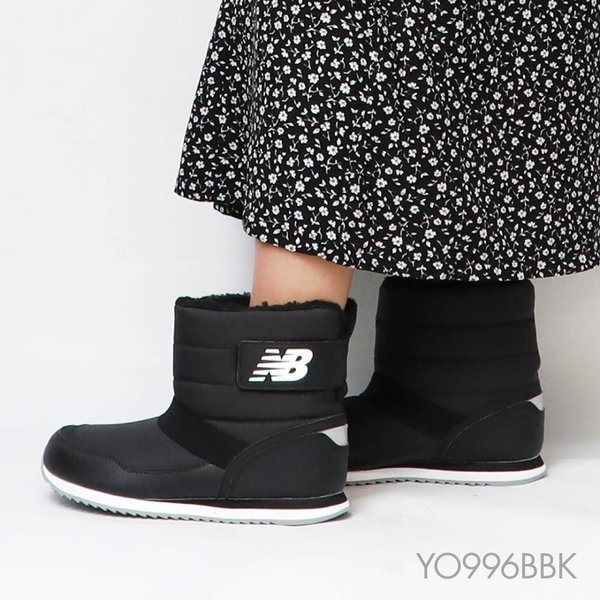 ニューバランス YO996 2019新作 ブーツ レディース シューズ ブーツ 996 ブラック YO996 冬 防寒 BBK BGR アウトドア u-stream 04