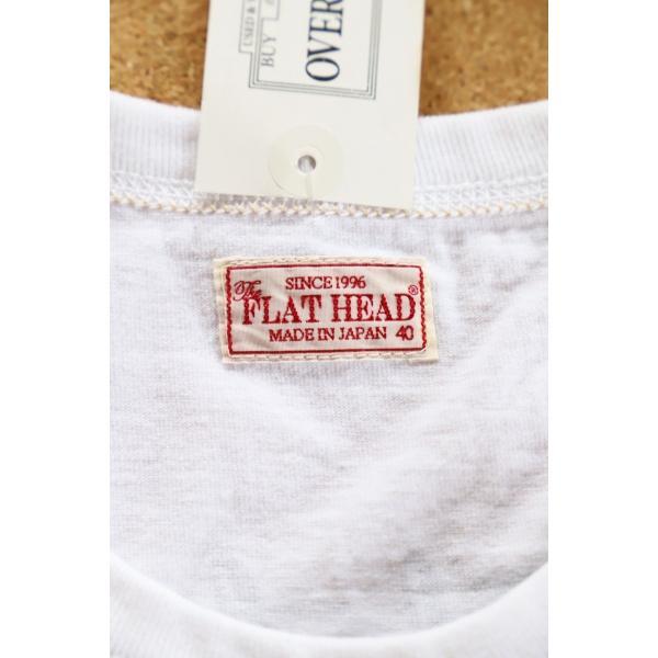THE FLAT HEAD x 小松美羽 フラットヘッド 2017干支Tシャツ 40 WHT 不死鳥 3本針 タグ付 丸胴 THC-KM05|u-v-c-s-overlock|04