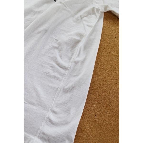 THE FLAT HEAD x 小松美羽 フラットヘッド 2017干支Tシャツ 40 WHT 不死鳥 3本針 タグ付 丸胴 THC-KM05|u-v-c-s-overlock|06