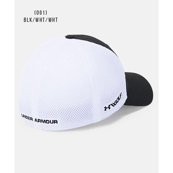 アンダーアーマー メンズ ゴルフ キャップ 帽子 1305017 ヒートギア 夏用 UNDER ARMOUR スレッドボーンクラシックメッシュキャップ uacv 04