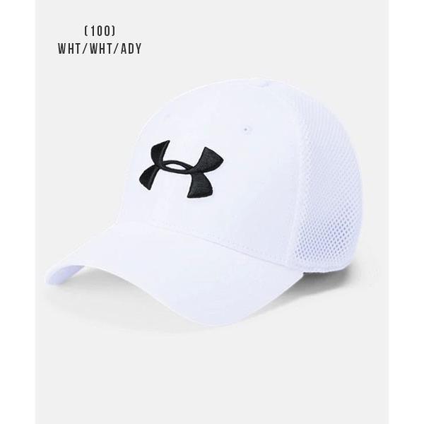 アンダーアーマー メンズ ゴルフ キャップ 帽子 1305017 ヒートギア 夏用 UNDER ARMOUR スレッドボーンクラシックメッシュキャップ uacv 05
