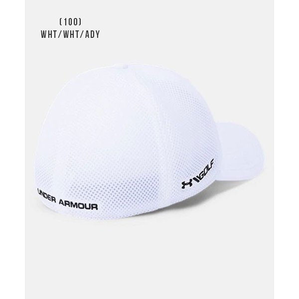 アンダーアーマー メンズ ゴルフ キャップ 帽子 1305017 ヒートギア 夏用 UNDER ARMOUR スレッドボーンクラシックメッシュキャップ uacv 06