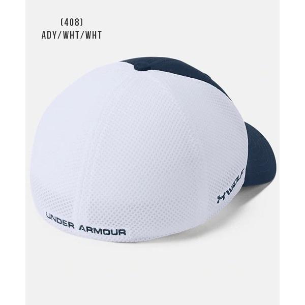 アンダーアーマー メンズ ゴルフ キャップ 帽子 1305017 ヒートギア 夏用 UNDER ARMOUR スレッドボーンクラシックメッシュキャップ uacv 08