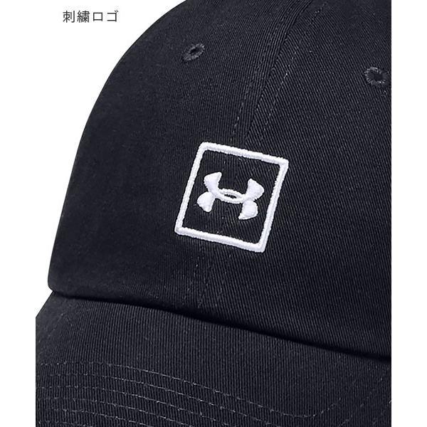 アンダーアーマー メンズ 帽子 トレーニング アジャスター調整可 1327158 UNDER ARMOUR ウォッシュドコットンキャップ uacv 09