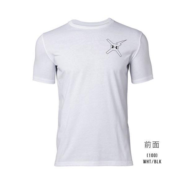 アンダーアーマー メンズ Tシャツ グラフィックTシャツ 背中ロゴ トップス 1329601 UNDER ARMOUR バックロゴTシャツ<DESTROY>|uacv|05
