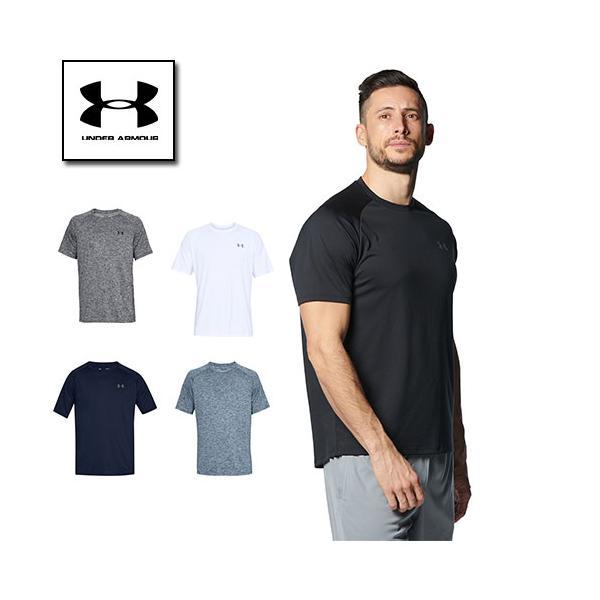 アンダーアーマーメンズTシャツスポーツ4XLの トレーニング1358553UNDERARMOUR定番テックTシャツ