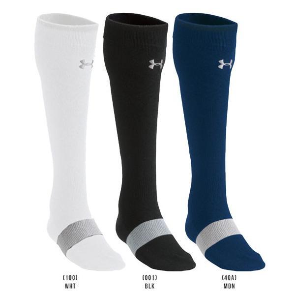 アンダーアーマー メンズ ソックス 野球 靴下 UNDER ARMOUR UAベースボールチャージドコットンソリッドソックス|uacv|02