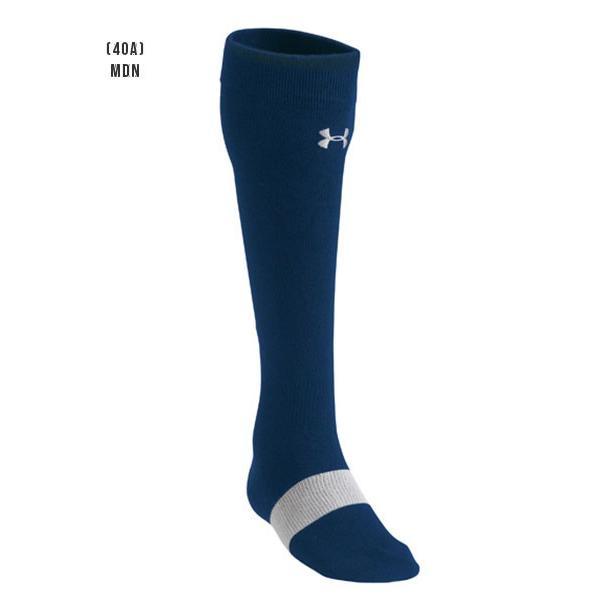 アンダーアーマー メンズ ソックス 野球 靴下 UNDER ARMOUR UAベースボールチャージドコットンソリッドソックス|uacv|05