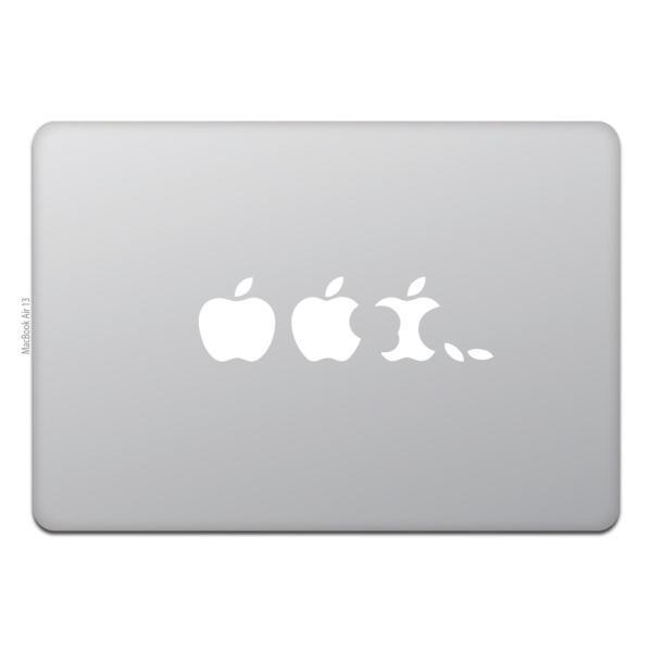 MacBook Air / Pro マックブック ステッカー シール エボリューション アップル Evolution