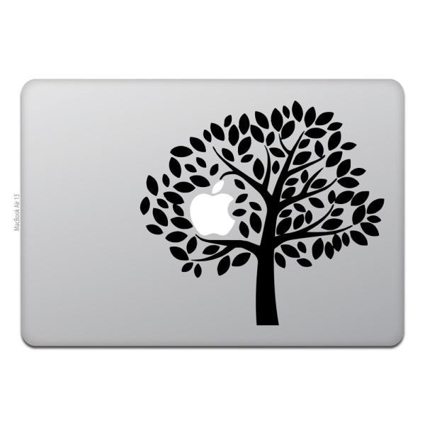 MacBook Air / Pro マックブック ステッカー シール テレビ CM アップル ツリー