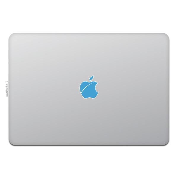 MacBook Air / Pro マックブック ステッカー シール Apple マーク iOS 傷りんご キズりんご|uandme|06