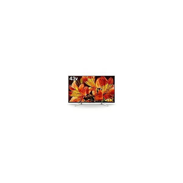 ソニー 43V型 4K対応液晶テレビ BRAVIA(ブラビア)(android tv)(4Kチューナー別売) KJ-43X8500Fの画像