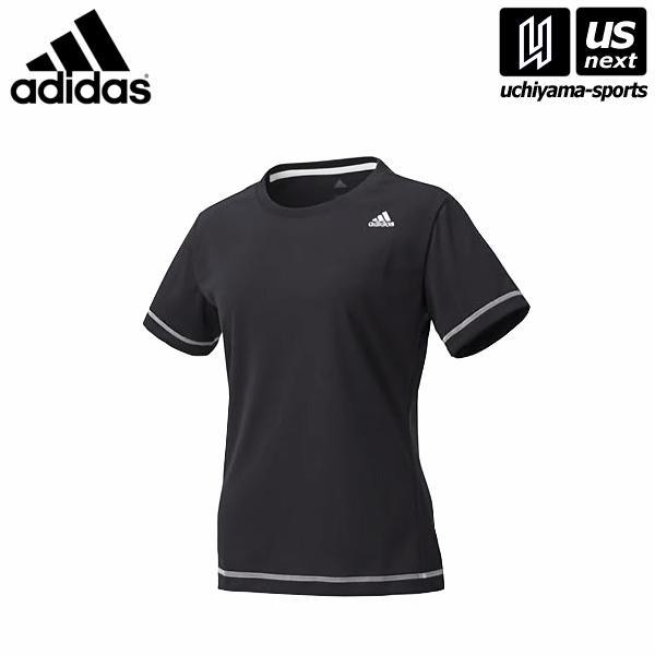 2aa3e383bf1f6 adidas アディダス レディース 半袖Tシャツ W D2Mトレーニング定番ロゴワンポイント 半袖Tシャツ