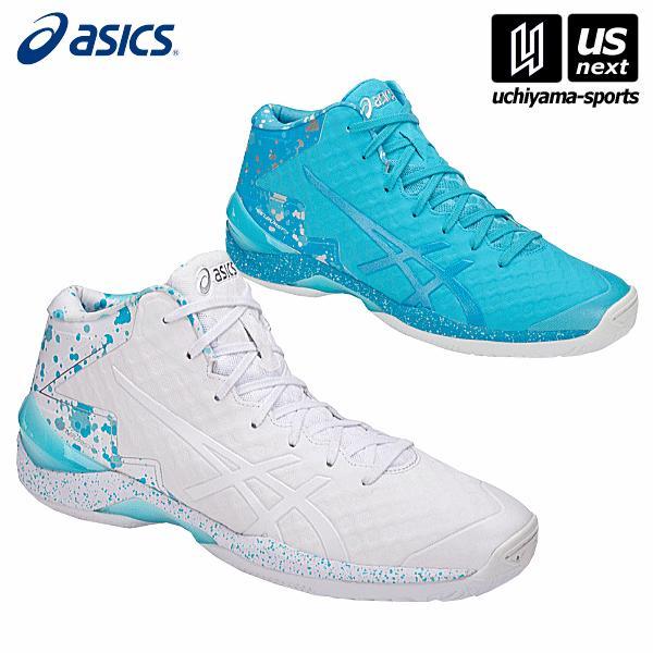 Asics Gel-burst 21 Ge Hi Aqua Island Blue Men Basketball Shoes Tbf30g-3941 Men's Shoes