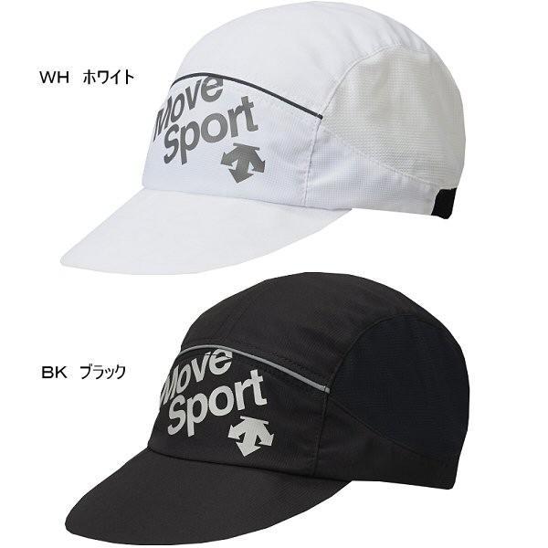 デサント ムーブスポーツ ランニングストレッチキャップ DRALJC09 帽子 ランニングキャップ 2018年春夏モデル (メール便不可) [物流]|uchiyama-sports|02