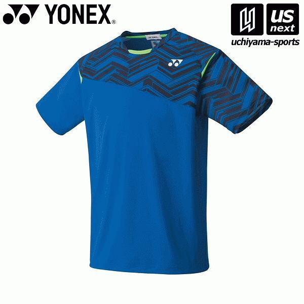 ヨネックス YONEX 10366 テニス・バドミントン(PRACTICE) ウェア ユニゲームシャツ(フィットスタイル) ブラストブルー [取り寄せ][自社](メール便不可)