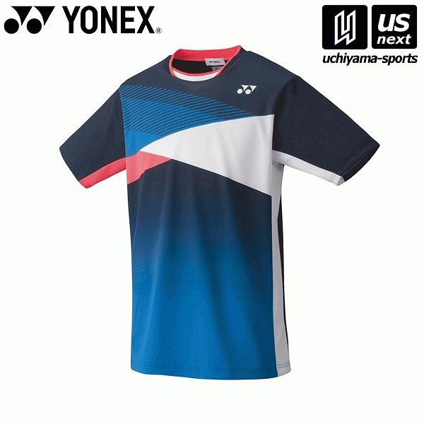 ヨネックス YONEX 10367 テニス・バドミントン(PRACTICE) ウェア ユニゲームシャツ(フィットスタイル) ネイビーブルー [取り寄せ][自社](メール便不可)