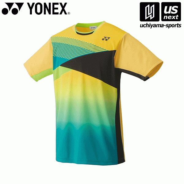 ヨネックス YONEX 10367 テニス・バドミントン(PRACTICE) ウェア ユニゲームシャツ(フィットスタイル) ライトイエロー [取り寄せ][自社](メール便不可)