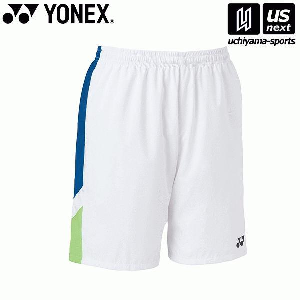 ヨネックス YONEX 15092 テニス・バドミントン(GAME SHIRTS) ウェア ユニハーフパンツ ホワイト [取り寄せ][自社](メール便不可)(P5倍)