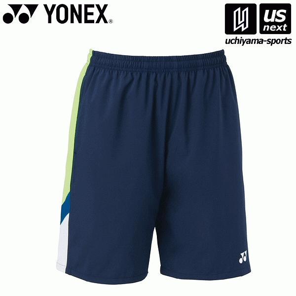 ヨネックス YONEX 15092 テニス・バドミントン(GAME SHIRTS) ウェア ユニハーフパンツ ネイビーブルー [取り寄せ][自社](メール便不可)(P5倍)